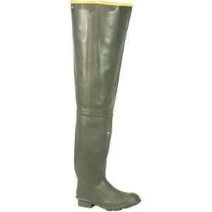 ラクロッセ Lacrosse メンズ シューズ・靴 釣り・フィッシング Marsh Wader OD Green|fermart3-store