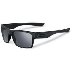 オークリー Oakley メンズ メガネ・サングラス Two Face Sunglasses Steel / Dark Grey|fermart3-store