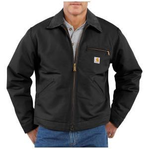 カーハート メンズ ジャケット アウター Carhartt Duck Detroit Jacket Black fermart3-store