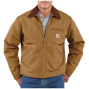 カーハート メンズ ジャケット アウター Carhartt Duck Detroit Jacket Carhartt Brown fermart3-store