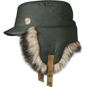 フェールラーベン メンズ 帽子 Woodsman Cap Mountain Grey|fermart3-store