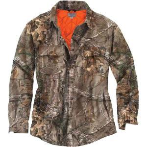 カーハート メンズ ジャケット アウター Carhartt Wexford Camo Shift Jacket Realtree Xtra fermart3-store