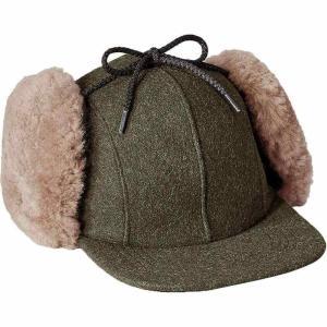 フィルソン メンズ キャップ 帽子 Double Mackinaw Cap Forest Green / Acorn|fermart3-store