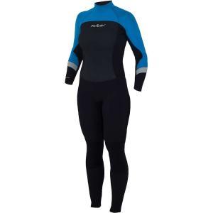 エヌアールエス レディース ウェットスーツ サーフィン Radiant 3/2mm Wetsuit Black|fermart3-store