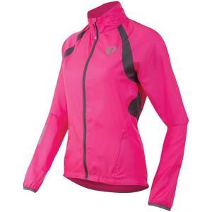パールイズミ Pearl Izumi レディース アウター 自転車 ELITE Barrier Jacket Screaming Pink/Smoked Pearl|fermart3-store