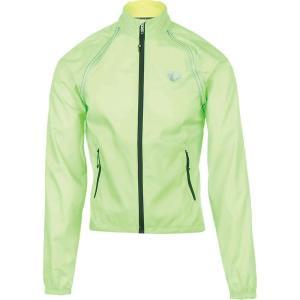 パールイズミ Pearl Izumi メンズ アウター 自転車 ELITE Barrier Convertible Jacket Screaming Green|fermart3-store