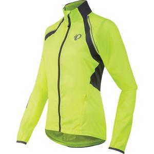 パールイズミ レディース アウター 自転車 ELITE Barrier Convertible Jacket Screaming Yellow / Smoked Pearl|fermart3-store