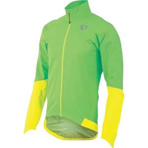 パールイズミ Pearl Izumi メンズ アウター 自転車 ELITE WxB Jacket Screaming Green|fermart3-store