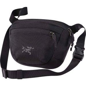 アークテリクス ユニセックス ボディバッグ・ウエストポーチ バッグ Maka 1 Waistpack Black|fermart3-store