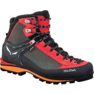 サレワ メンズ シューズ・靴 ハイキング・登山 Salewa Crow GTX Boot Black / Papavero|fermart3-store