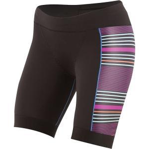 パールイズミ Pearl Izumi レディース ボトムス・パンツ 自転車 ELITE Pursuit Tri Short Black / Purple Wine Stripe|fermart3-store