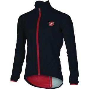 カステリ メンズ アウター Castelli Riparo Rain Jacket Black|fermart3-store