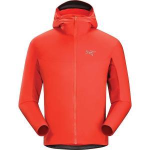 アークテリクス メンズ パーカー トップス Arcteryx Procline Hybrid Hoody Cardinal|fermart3-store