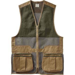フィルソン メンズ トップス 釣り・フィッシング Light Shooting Vest Dark Tan|fermart3-store
