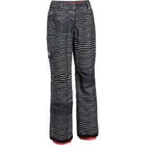 アンダーアーマー Under Armour レディース スキー・スノーボード ボトムス・パンツ coldgear infrared chutes insulated pant Black/Marathon Red/White|fermart3-store