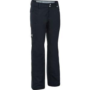 アンダーアーマー Under Armour レディース スキー・スノーボード ボトムス・パンツ coldgear infrared chutes insulated pant Black/Glacier Grey|fermart3-store