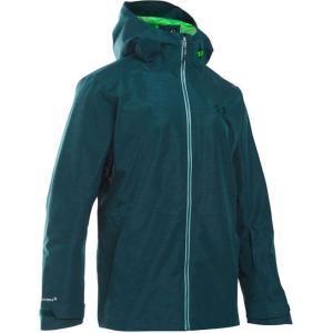 アンダーアーマー Under Armour メンズ ジャケット アウター ua coldgear infrared haines shell jacket Nova Teal/Northern Lights/Overcast Grey fermart3-store