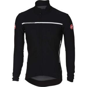 カステリ メンズ アウター 自転車 Castelli Perfetto LS Jacket Light Black|fermart3-store