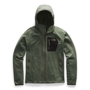 ザ ノースフェイス The North Face メンズ フリース トップス borod hoodie New Taupe Green/TNF Black|fermart3-store