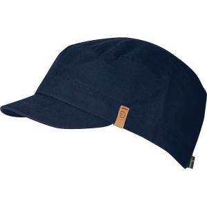 フェールラーベン Fjallraven ユニセックス キャップ 帽子 Singi Trekking Cap Dark Navy|fermart3-store