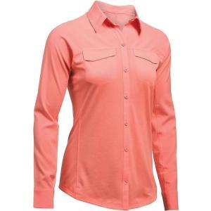 アンダーアーマー レディース トップス 長袖シャツ Under Armour UA Fish Hunter Hybrid LS Shirt London Orange / London Orange fermart3-store