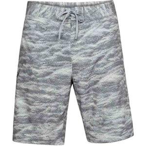 アンダーアーマー Under Armour メンズ 海パン 水着・ビーチウェア UA Reblek Printed Boardshort Graphite/Anthracite/Overcast Grey/Swell Print|fermart3-store