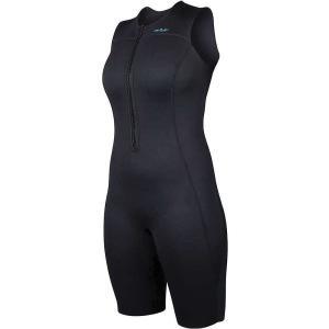 エヌアールエス レディース ウェットスーツ サーフィン 2.0 Shorty Wetsuit Black|fermart3-store