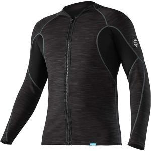 エヌアールエス メンズ トップス サーフィン HydroSkin 0.5 Jacket Black|fermart3-store