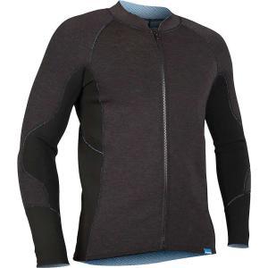 エヌアールエス メンズ トップス サーフィン HydroSkin 1.5 Jacket Charcoal Heather|fermart3-store