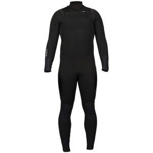 エヌアールエス メンズ ウェットスーツ サーフィン Radiant 3/2mm Wetsuit Black|fermart3-store