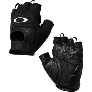 オークリー メンズ 手袋・グローブ Factory Road Glove 2.0 Jet Black|fermart3-store