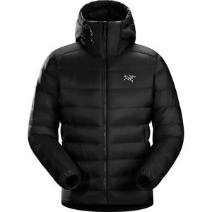 アークテリクス Arcteryx メンズ ダウン・中綿ジャケット アウター Cerium SV Hoody Black|fermart3-store