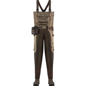 ラクロッセ メンズ ボトムス・パンツ 釣り・フィッシング Aero Elite 1000G Insulated Breathable Wader Mossy Oak Bottomland|fermart3-store