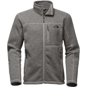 ザ ノースフェイス メンズ フリース トップス Gordon Lyons Full Zip Jacket TNF Medium Grey Heather|fermart3-store