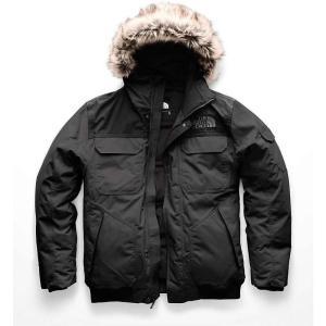 ザ ノースフェイス メンズ ダウン・中綿ジャケット アウター Gotham Jacket III Asphalt Grey / TNF Black|fermart3-store