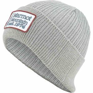 マーモット ユニセックス ニット 帽子 Marmot Retro Trucker Beanie Grey Storm|fermart3-store