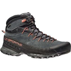 ラスポルティバ メンズ シューズ・靴 ハイキング・登山 TX4 Mid GTX Boot Carbon / Flame|fermart3-store