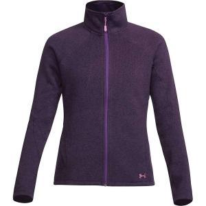 アンダーアーマー レディース ジャケット アウター Under Armour UA Wintersweet Jacket Premier Purple / Wisteria|fermart3-store