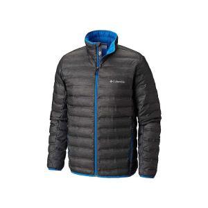 コロンビア Columbia メンズ ダウン・中綿ジャケット アウター Lake 22 Down Jacket Charcoal Heather Print|fermart3-store