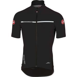 カステリ メンズ トップス 自転車 Castelli Perfetto Light 2 SS Top Light Black|fermart3-store