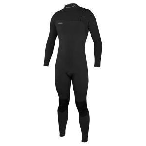 オニール メンズ ウェットスーツ サーフィン O'Neill Hyperfreak Comp Zipless 3/2MM Full Suit Black / Black|fermart3-store