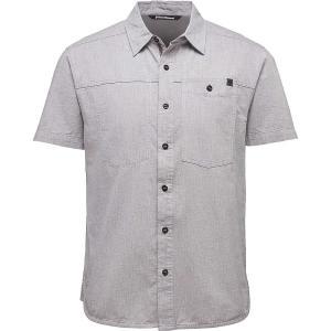 ブラックダイヤモンド メンズ 半袖シャツ トップス Chambray Modernist Shirt Slate fermart3-store