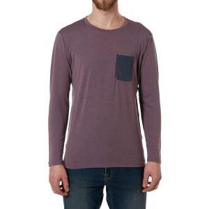 ラブ メンズ 長袖Tシャツ トップス Crimp LS Tee Heron fermart3-store