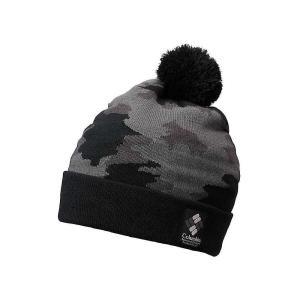 コロンビア Columbia ユニセックス ニット 帽子 Deschutes River Beanie Black Camo|fermart3-store