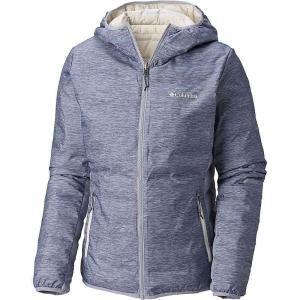 コロンビア レディース ダウンジャケット アウター Lake 22 Reversible Hooded Jacket Astral Heather Print fermart3-store