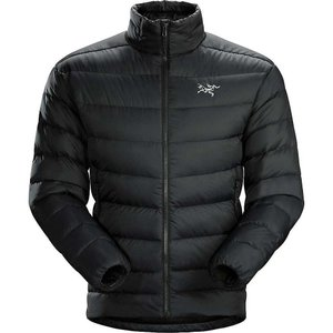 アークテリクス Arcteryx メンズ ダウン・中綿ジャケット アウター Thorium AR Jacket Black|fermart3-store