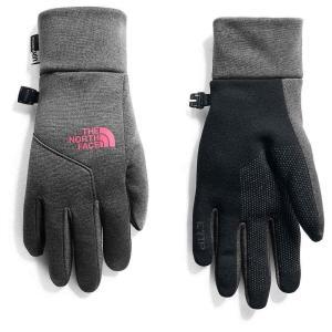 ザ ノースフェイス The North Face レディース 手袋・グローブ Etip Glove TNF Black / TNF Dark Grey Heather|fermart3-store