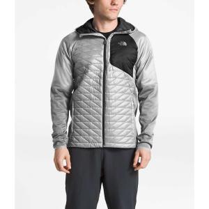 ザ ノースフェイス メンズ ダウンジャケット アウター Kilowatt ThermoBall Jacket High Rise Grey|fermart3-store