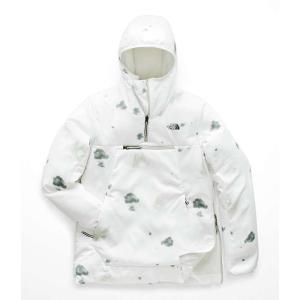 ザ ノースフェイス The North Face レディース アウター スキー・スノーボード Vinny Ventrix Pullover TNF White Snowcamito Print|fermart3-store
