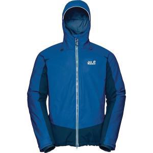 ジャックウルフスキン Jack Wolfskin メンズ ジャケット アウター Exolight Base Jacket Electric Blue|fermart3-store